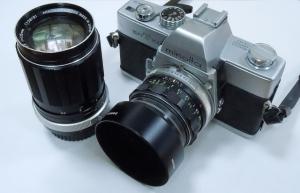 父のカメラ ミノルタSRT-101