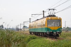 立山行き普通電車