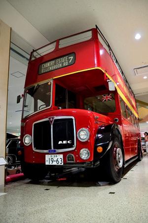 二階建てのロンドンバス