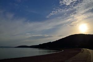 能登島の夕暮れ