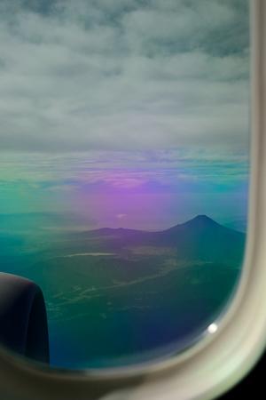 富士山と芦ノ湖と