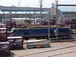 EF510 500番台 金沢(タ)にて