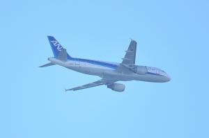 雪レフ ANA A320-211